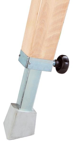 Cheval de saut Sport-Thieme Avec piètement bois