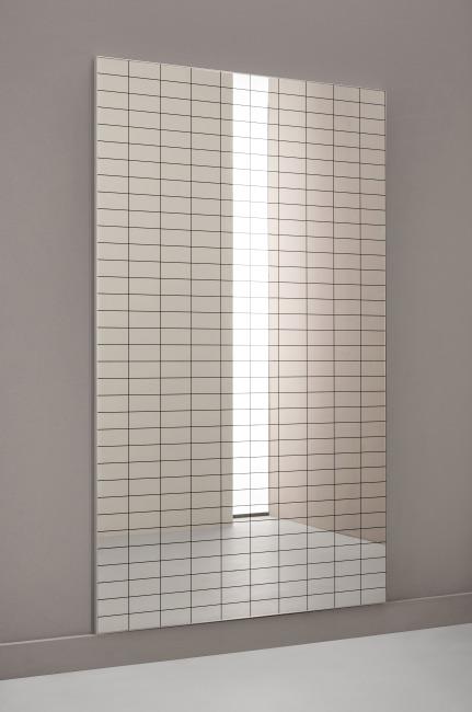 Dinamica Ballet Correctie-Wandspiegel met raster 120x80 cm