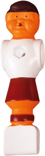 Figurines de baby-foot Blanc-rouge