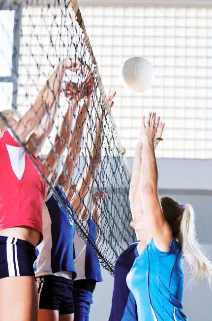 Filet de volleyball de compétition DVV 2