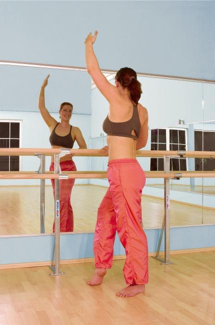 Folie-Lichte spiegel 150x50 cm, Met rugwand