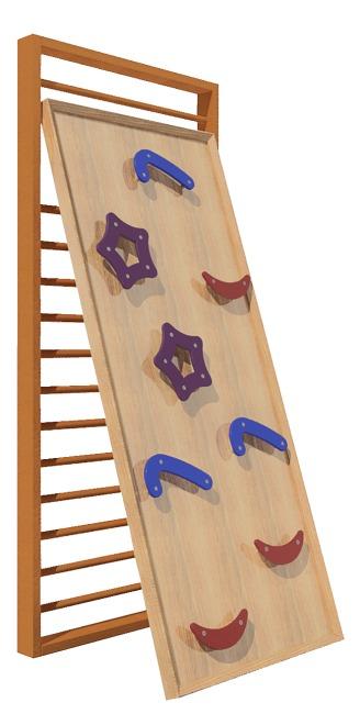 Mur d'escalade Sport-Thieme® « Kidz » à accrocher