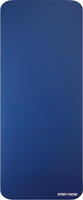 Natte de gymnastique Sport-Thieme® « Gym 15 » Sans œillets, Bleu