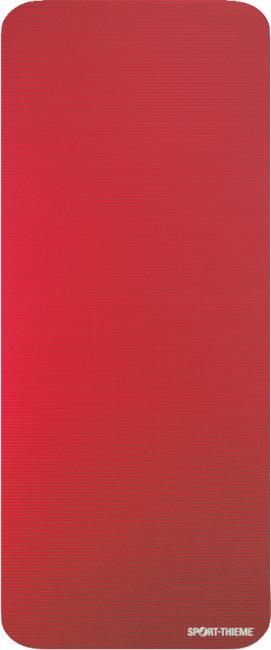 Natte de gymnastique Sport-Thieme® « Gym 15 » Standard, Rouge