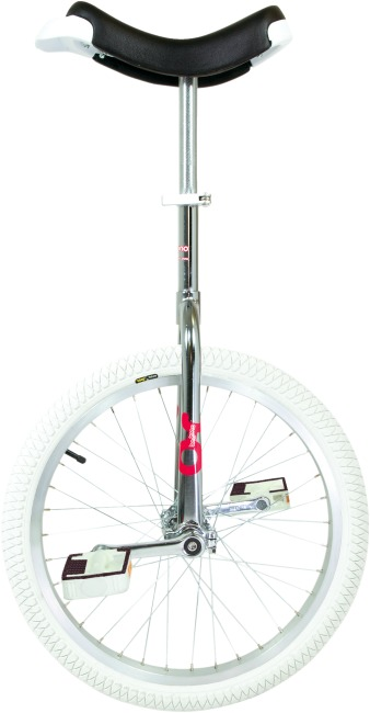 "OnlyOne® éénwieler ""Indoor"" 20 inch wiel (ø 51 cm), chroom kader"