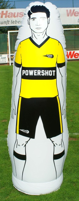 Power Shot Mannequin d'entraînement gonflable 175 cm