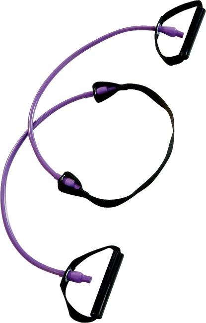 Reivo® Fitness Tube Step Violet = sterk