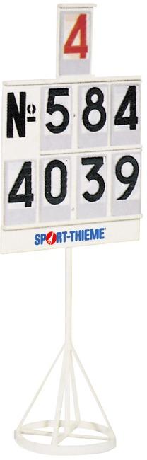 Scorebord met ringvoet