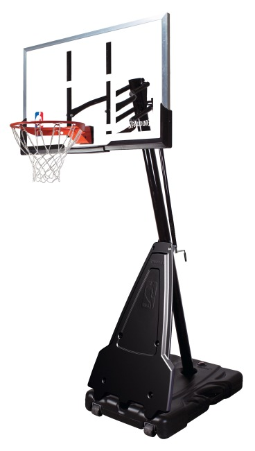 "Spalding® Basketbalinstallatie ""NBA Platinum Helix Lift Portable"""