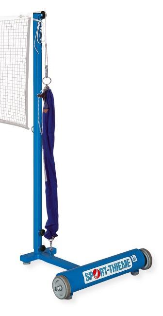 Sport-Thieme Badminton-palen Met katrolsysteem