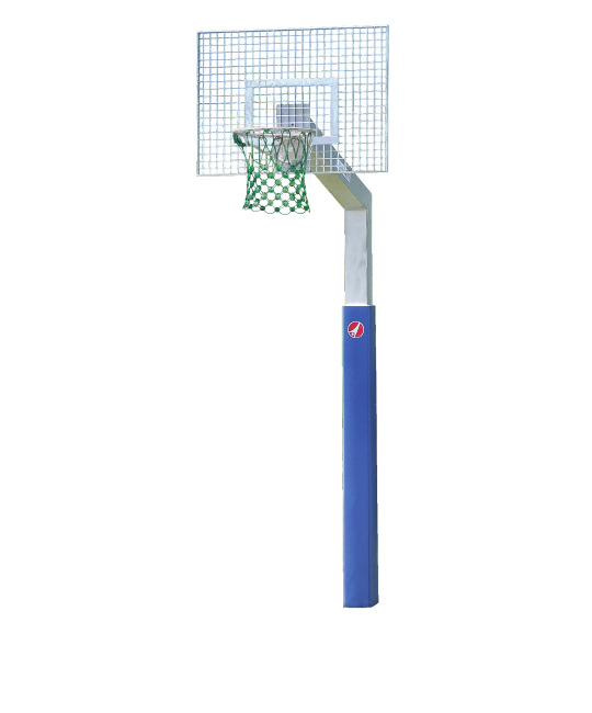 "Sport-Thieme® Basketbalinstallatie ""Fair Play Silent"" Ring ""Outdoor"", 180x105 cm"