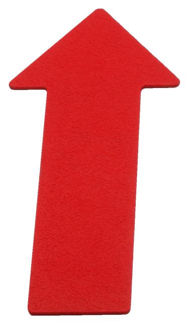 Sport-Thieme Bodemmarkering Pijl, 35 cm, Rood
