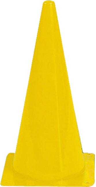 Sport-Thieme Cône de signalisation Sport-Thieme® 20,5x20,5x37 cm, Jaune