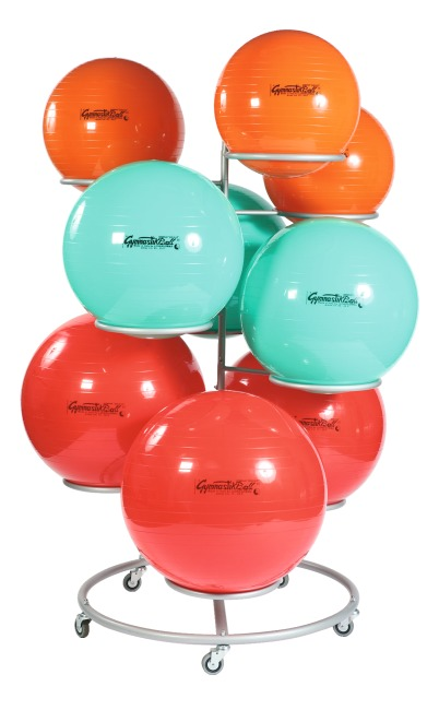 Sport-Thieme® Mobiele Staander voor gymnastiekballen