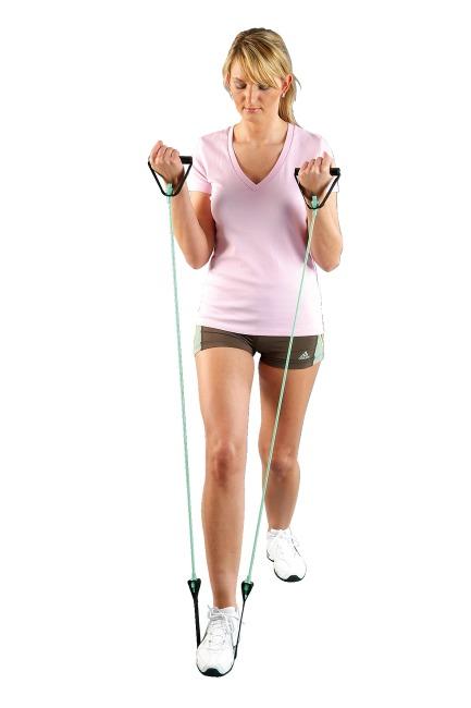 Tube de fitness Sport-Thieme® « Step » Vert = facile