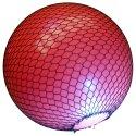 Net voor grote gymnastiekballen