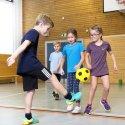 Sport-Thieme® PU-Voetbal Zwart/geel