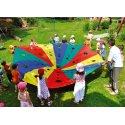 Parachute « Fromage suisse » ø 3 m, 8 boucles
