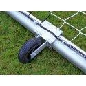 Transportwielen voor vrijstaande doelen Ovaalprofiel 100x120 mm, Profielgroef normaal