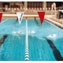 Sport-Thieme Wimpelketting Rood-wit, Wimpel 18x27,5 cm, Rood-wit, Wimpel 18x27,5 cm