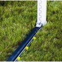 Opklapbaar Bodemframe met PlayersProtect voor grootvelddoelen Netdiepte 1,5 m