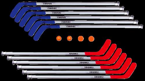 "Dom Hockeysticks-Set ""Cup"""
