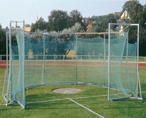 Cage de protection pour lancer du disque et du marteau – autostable