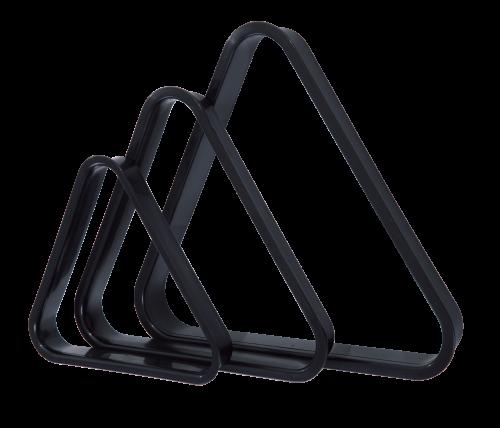 Triangle de billard en plastique