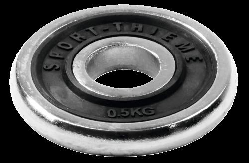 Sport-Thieme Disque d'haltère Chrome
