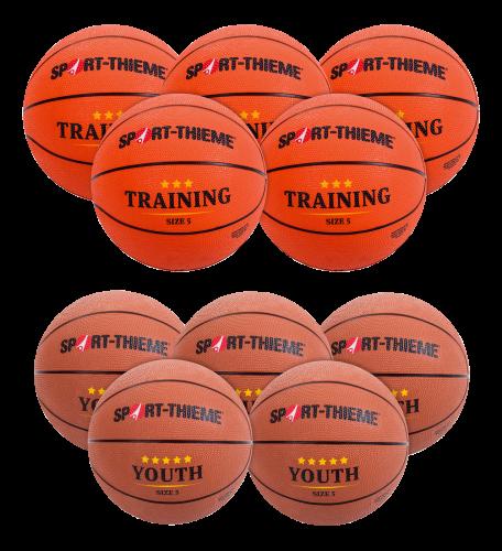 Lot de ballons de basket Sport-Thieme « Relève »
