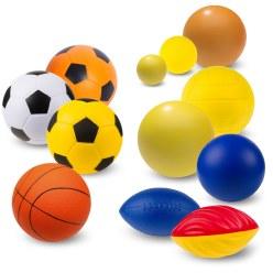 """Sport-Thieme® Zachte PU-schuimstof ballenset """"Maxi"""""""