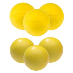 "Sport-Thieme® PU-Schuimstofballen-Set ""Volleybal"""