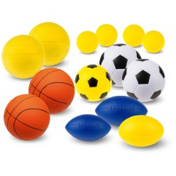 "Sport-Thieme® PU-Schuimstofballen-Set ""Team"""