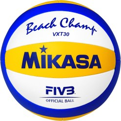 Ballon de beach-volley Mikasa « Beach Champ VXT30 »