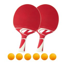 Kit de raquettes de tennis de table « Tacteo 50 »