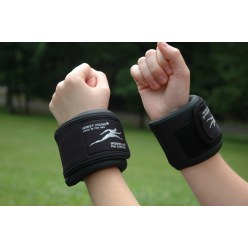 Manchettes chevilles & poignets en cuir synthétique Ironwear®