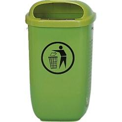 Afvalbak volgens DIN 30713