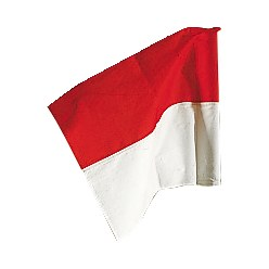 Sport-Thieme® Vlag voor grenspaal ø50 mm Neon geel