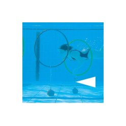 Spankoorden voor het duikhoepel spel