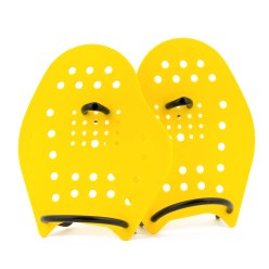 Sport-Thieme Paddles Swim-Power Taille M, 21x18 cm, Jaune