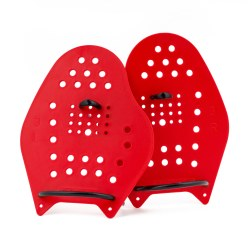 Sport-Thieme Paddles Swim-Power Taille L, 23x19 cm, Rouge
