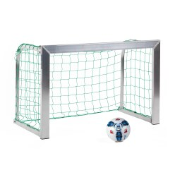 Sport-Thieme Mini but d'entraînement avec supports de filet pliables