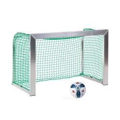 Mini but Sport-Thieme®, avec supports de filet rabattables