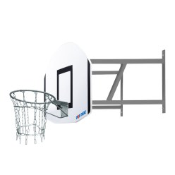 "Sport-Thieme® Basketbal-Wand-Set ""Outdoor"""