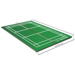 Court de badminton mobile Victor® 2 pces.