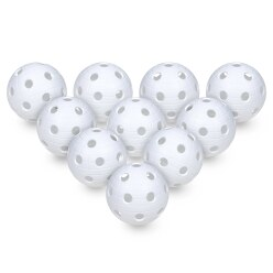 Set van 10 Floorball-Ballen