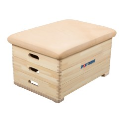 Plinth Sport-Thieme® « Original » 3 caissons
