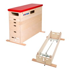 Plinth Sport-Thieme® « Multiplex » 6 caissons