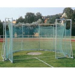 Beschermkooi voor hamerslingeren en discuswerpen - vrijstaand