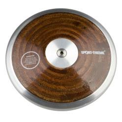 "Sport-Thieme® Wedstrijd-Discus ""Hout"" 1 kg"